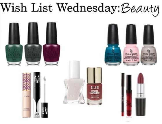 Wish List Wednesday Beauty 8-17